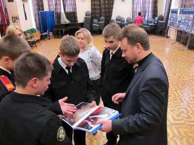 Nsnbr-doctor.net: Открытый урок против наркотиков в 1-м Московском кадетском корпусе  IMG_0308