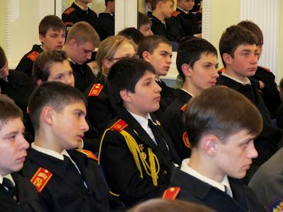 Россия. Москва. 22 марта 2012 года. Московский кадетский корпус полиции. IMG_0370