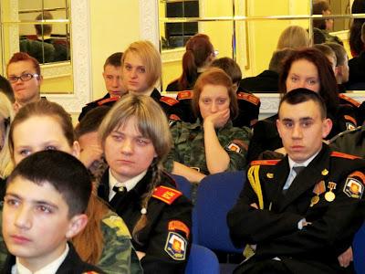 Россия. Москва. 22 марта 2012 года. Московский кадетский корпус полиции. IMG_0375